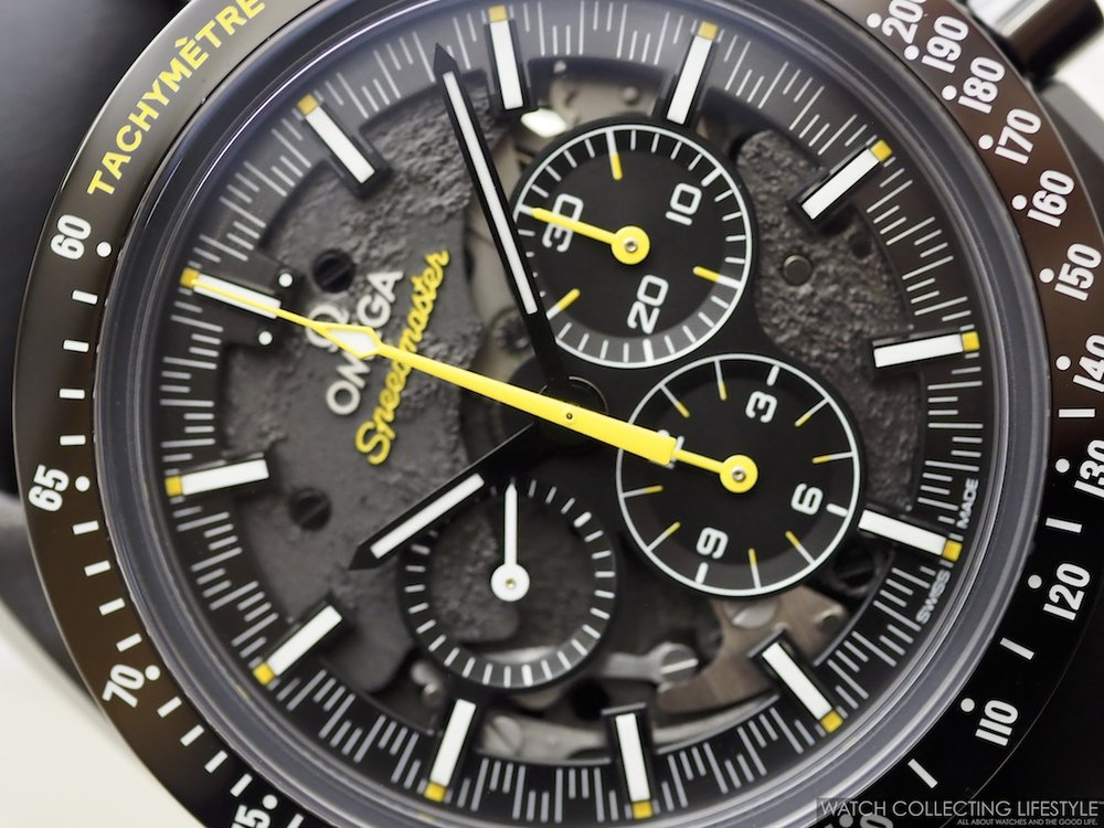 Omega Speedmaster 'Dark Side of the Moon' Apollo 8 Limited Edition Front Shot