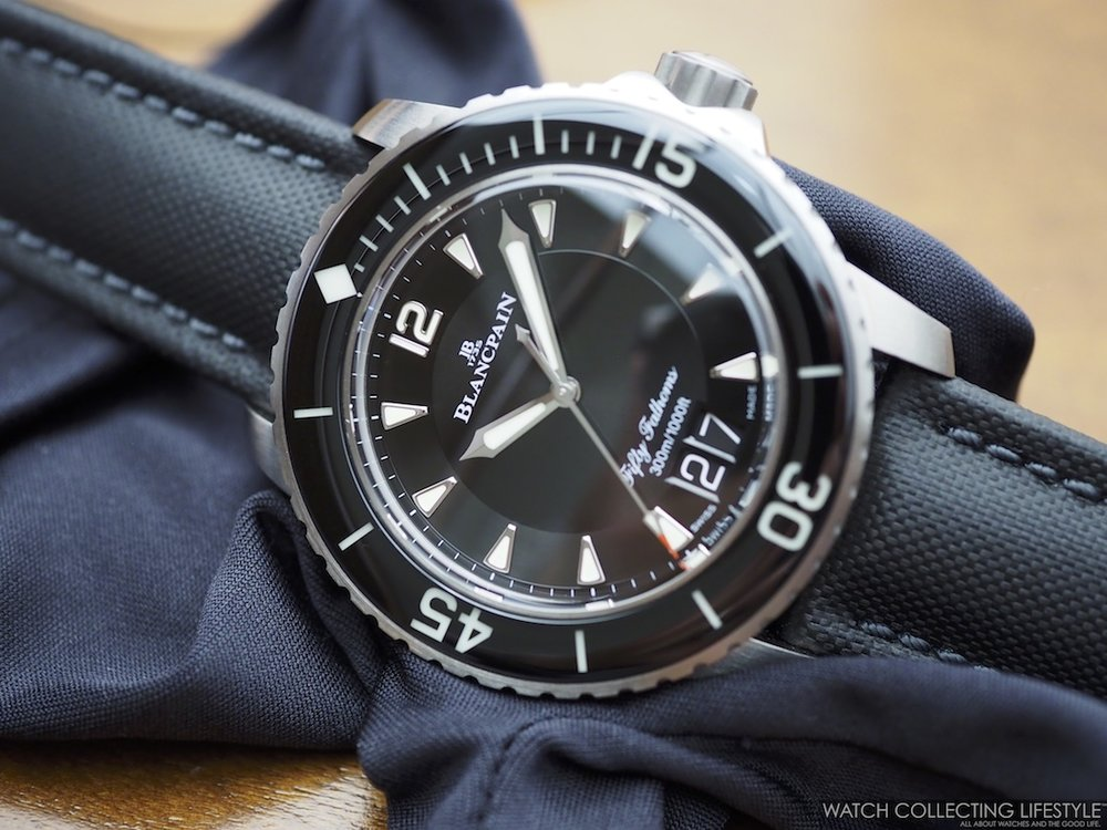 Blancpain Fifty Fathoms Big Date WCL
