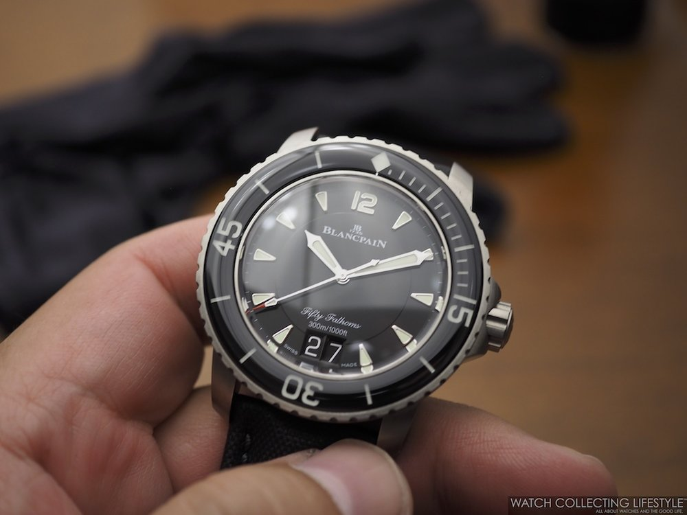 Blancpain Fifty Fathoms Grande Date WCL