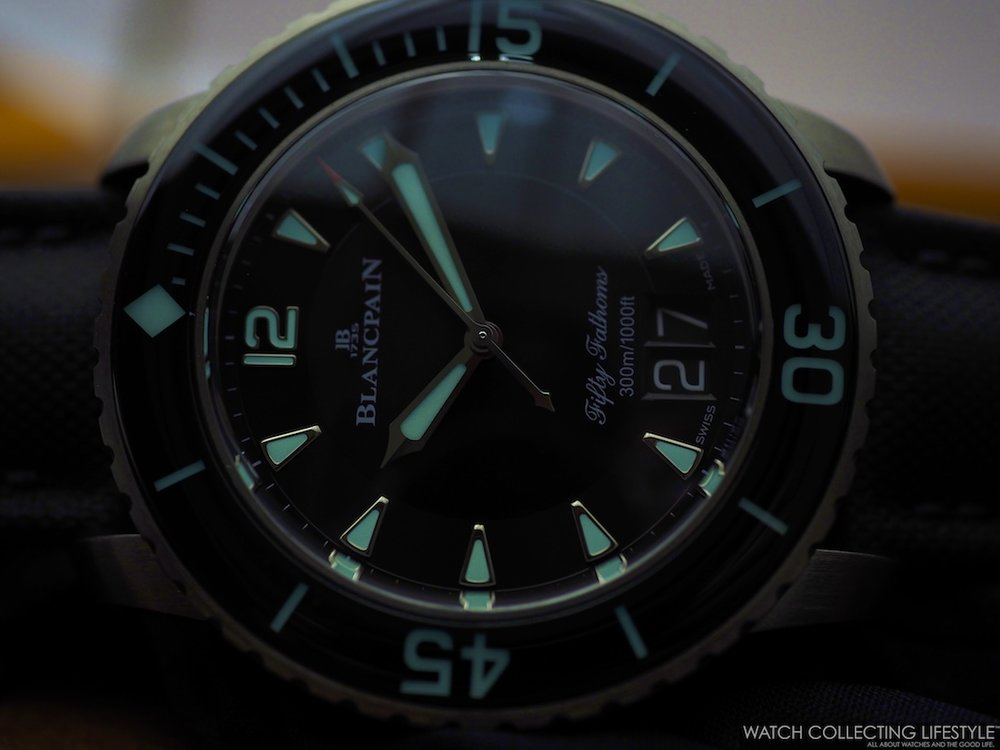 Blancpain Fifty Fathoms Grande Date Lumeshot WCL