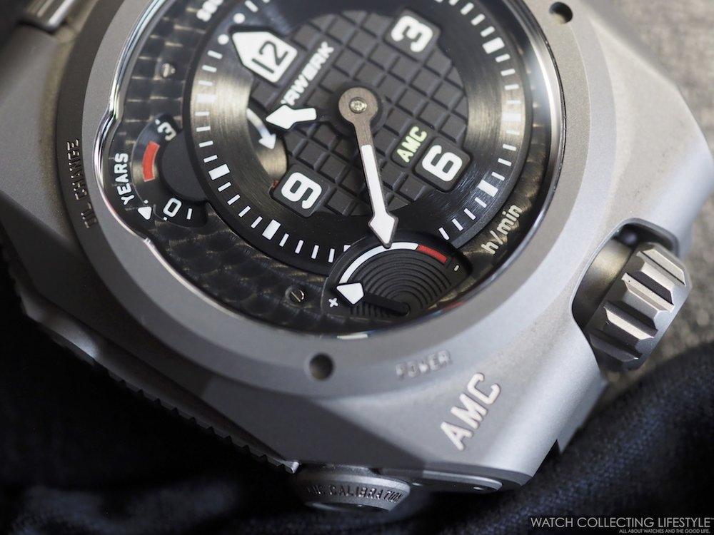 Urwerk Atomic Master Clock Watch