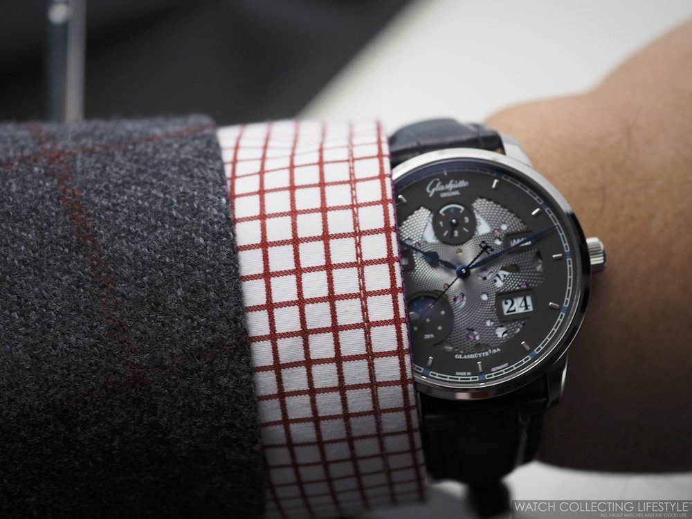 Glashütte Original Senator Excellence Perpetual Calendar Wristshot