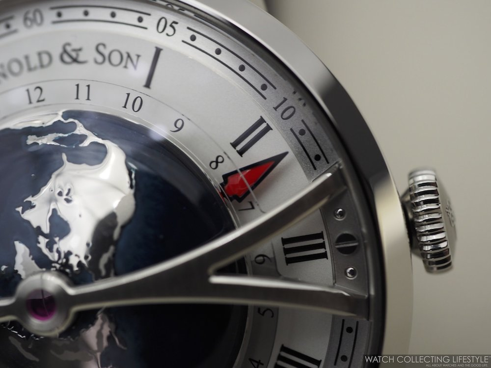 Arnold & Son Globetrotter Macro WCL 3