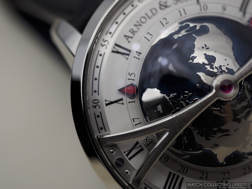 Arnold & Son Globetrotter Macro WCL 4