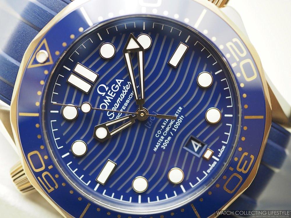 Omega Diver 300M Sedna