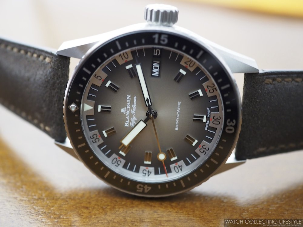 Blancpain Fifty Fathoms Bathyscaphe Day Date 70s WCL