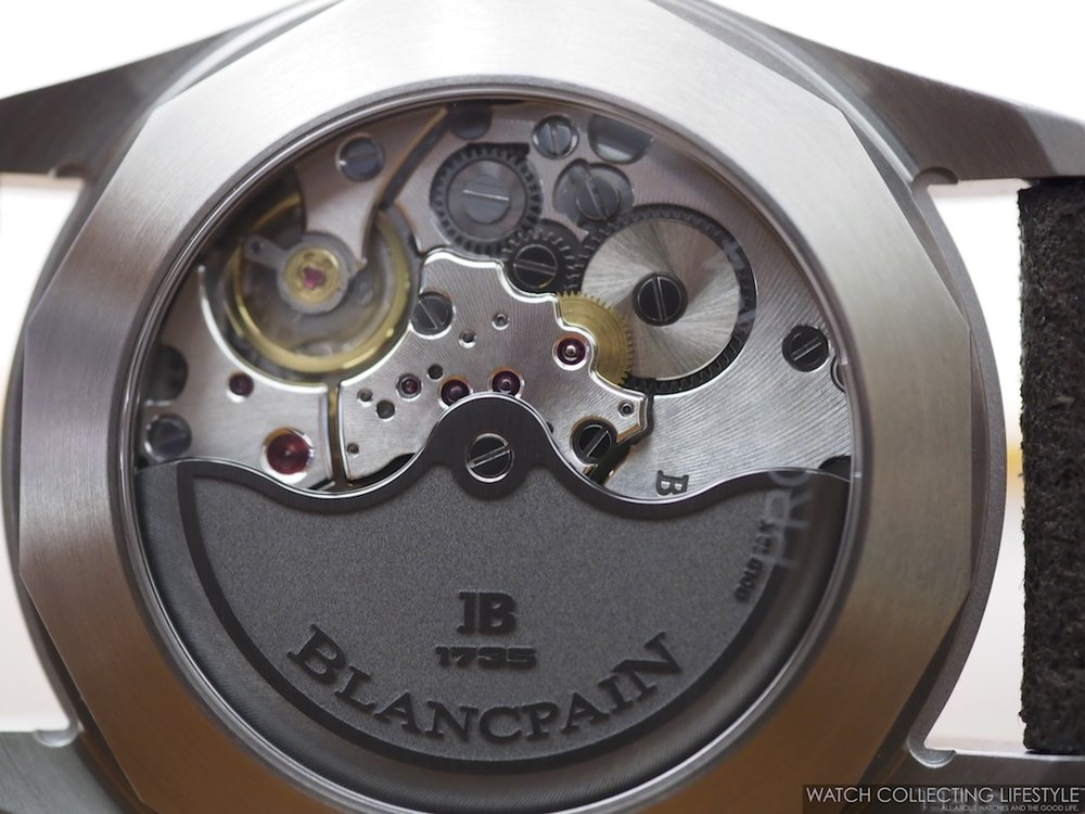Blancpain Fifty Fathoms Bathyscaphe Day Date 70s Movement
