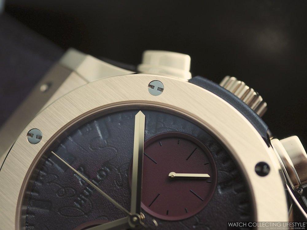 Classic Fusion Chronograph Berluti Scritto Bordeaux Macro WCL