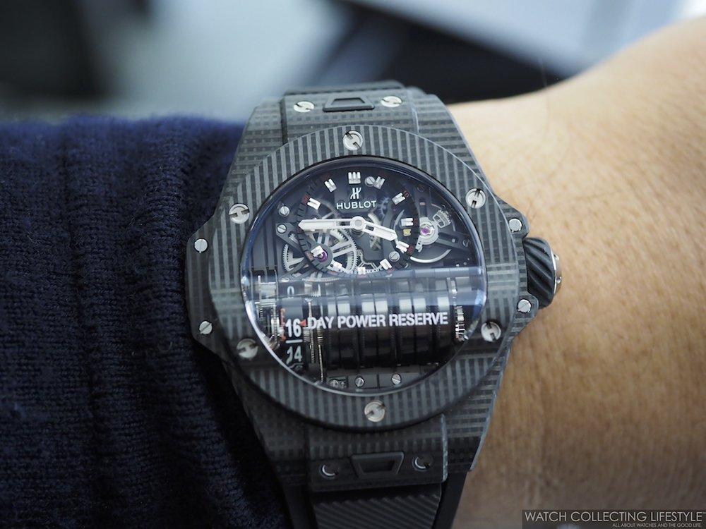Hublot Big Bang MP-11 3D Carbon Wristshot