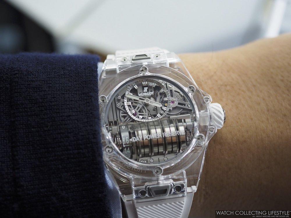Hublot Big Bang MP-11 Sapphire Wristshot