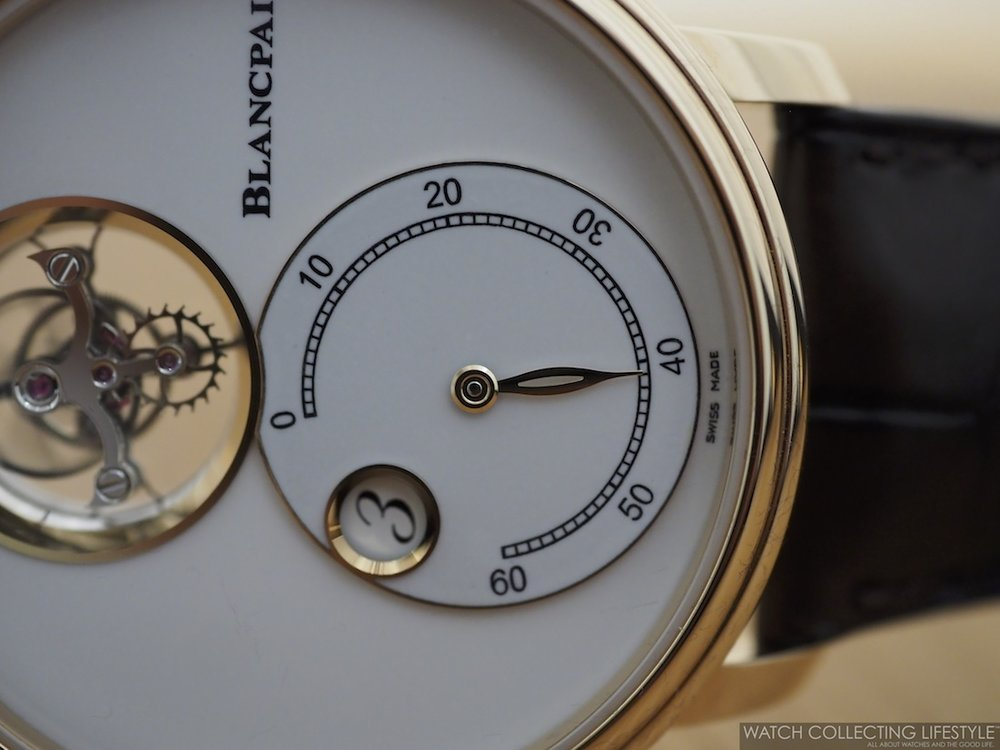 Blancpain Flying Tourbillon Jumping Hours Retrograde Minutes