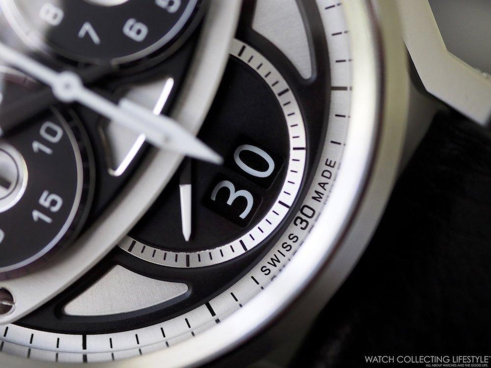 Montres L&JR Chronograph S1503 WCL Macro 8