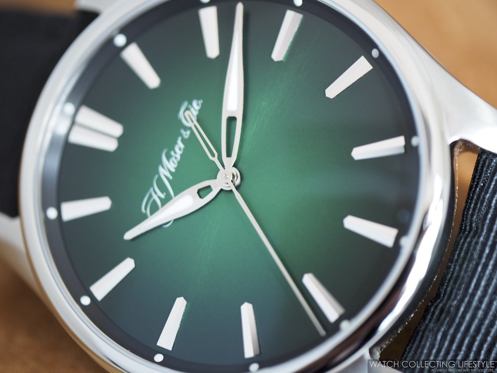 H. Moser & Cie. Pioneer Center Seconds Cosmic Green WCL 2