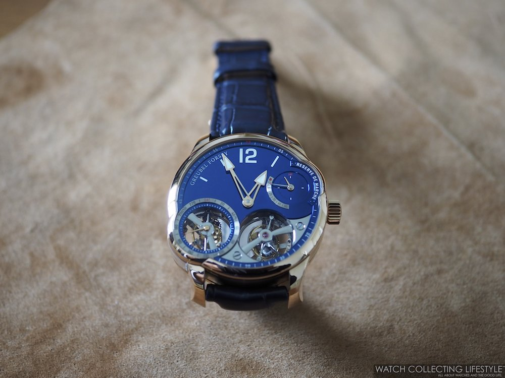 Greubel Forsey Quadruple Tourbillon Blue WCL
