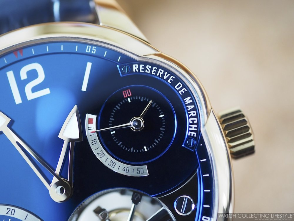 Greubel Forsey Quadruple Tourbillon Blue WCL Macro2