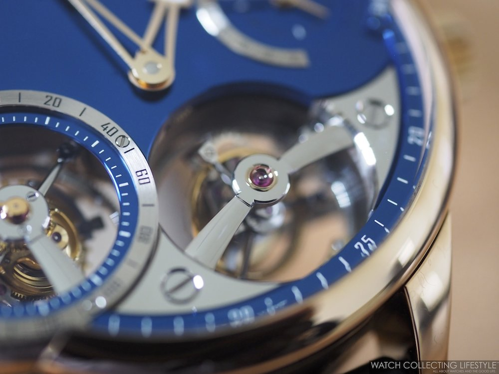 Greubel Forsey Quadruple Tourbillon Blue Black Polishing WCL