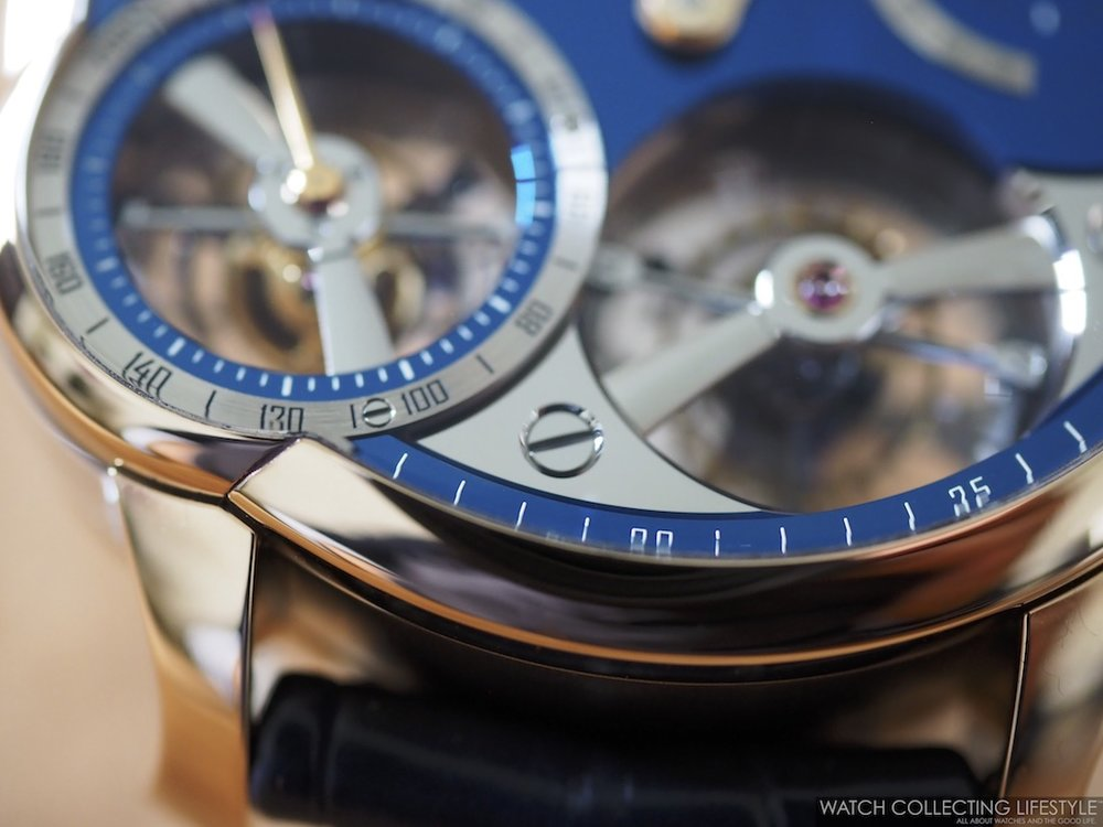 Greubel Forsey Quadruple Tourbillon Blue