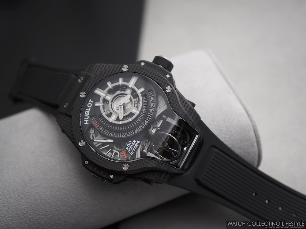 Hublot MP-09 Tourbillon Bi-Axis 3D Carbon WCL