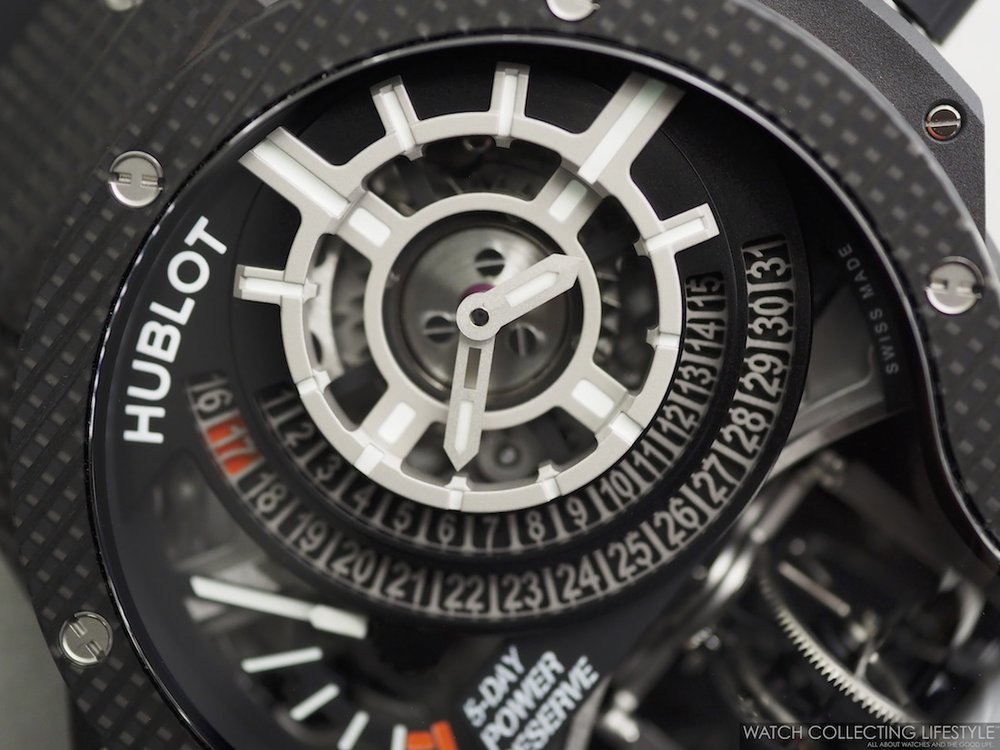 Hublot MP-09 Tourbillon Bi-Axis 3D Carbon WCL Macro