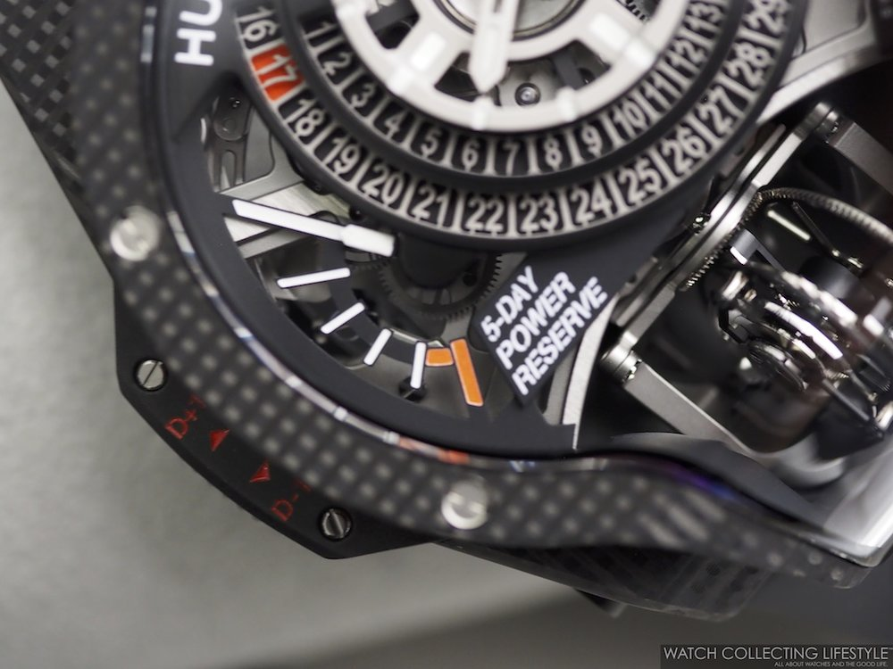 Hublot MP-09 Tourbillon Bi-Axis 3D Carbon WCL Macro2