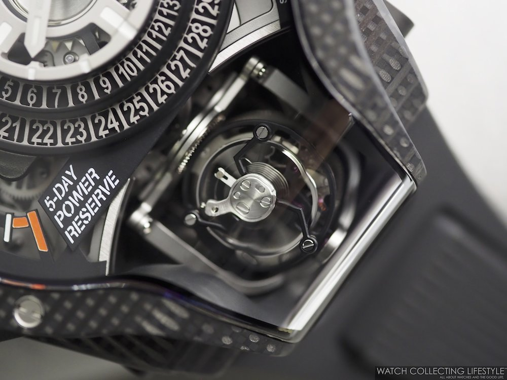 Hublot MP-09 Tourbillon Bi-Axis 3D Carbon WCL Macro6
