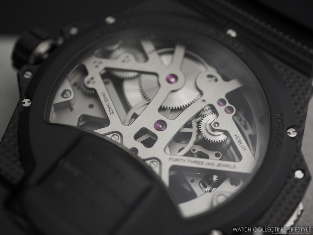 Hublot MP-09 Tourbillon Bi-Axis 3D Carbon Movement