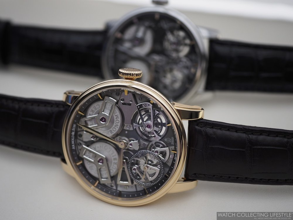 Arnold & Son Tourbillon Chronometer No. 36 Tribute Editions