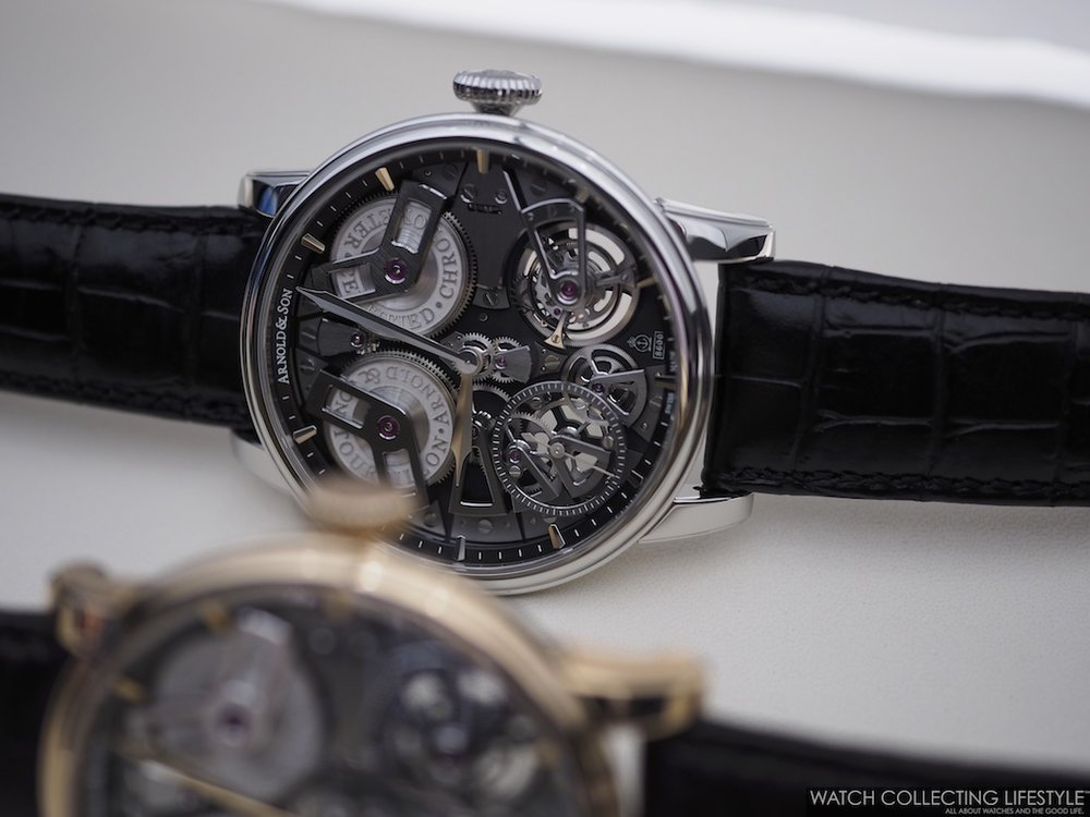 Arnold & Son Tourbillon Chronometer No. 36 Tribute Editions WCL