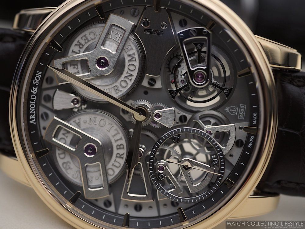 Arnold & Son Tourbillon Chronometer No. 36 Tribute Edition Red Gold