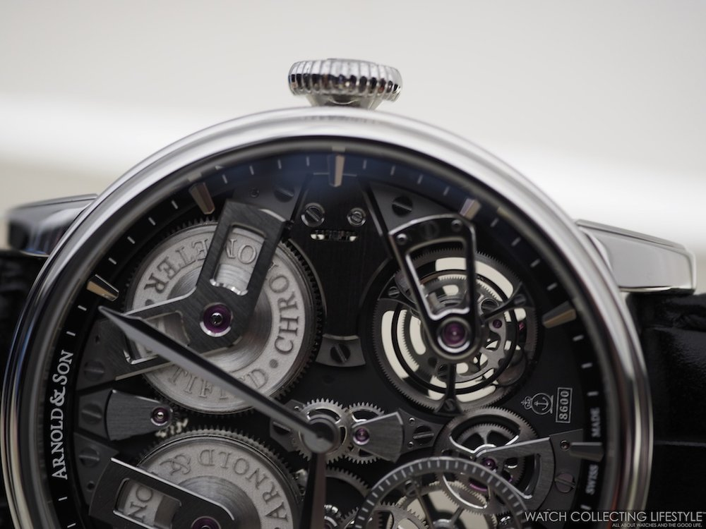 Arnold & Son Tourbillon Chronometer No. 36 Tribute Edition Stainless Steel