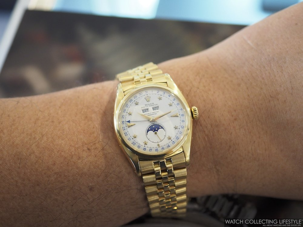 Rolex ref. 6062 Triple Calendar