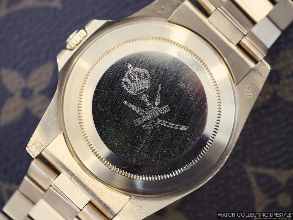 Rolex GMT Master ref. 16758 SARU WCL