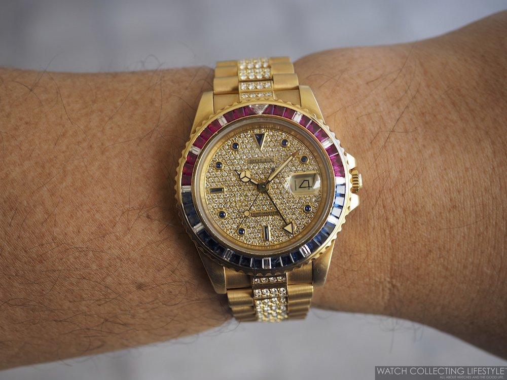 Rolex GMT Master ref. 16758 SARU WCL Phillips