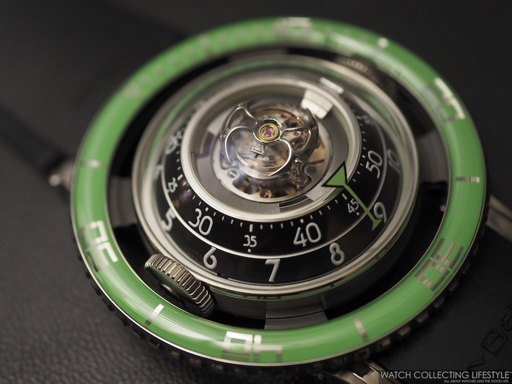 MB&F Horological Machine No. 7 HM7 Aquapod Green