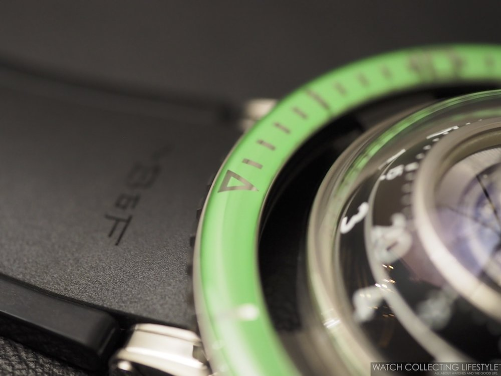 MB&F Horological Machine No. 7 HM7 Aquapod Green WCL6