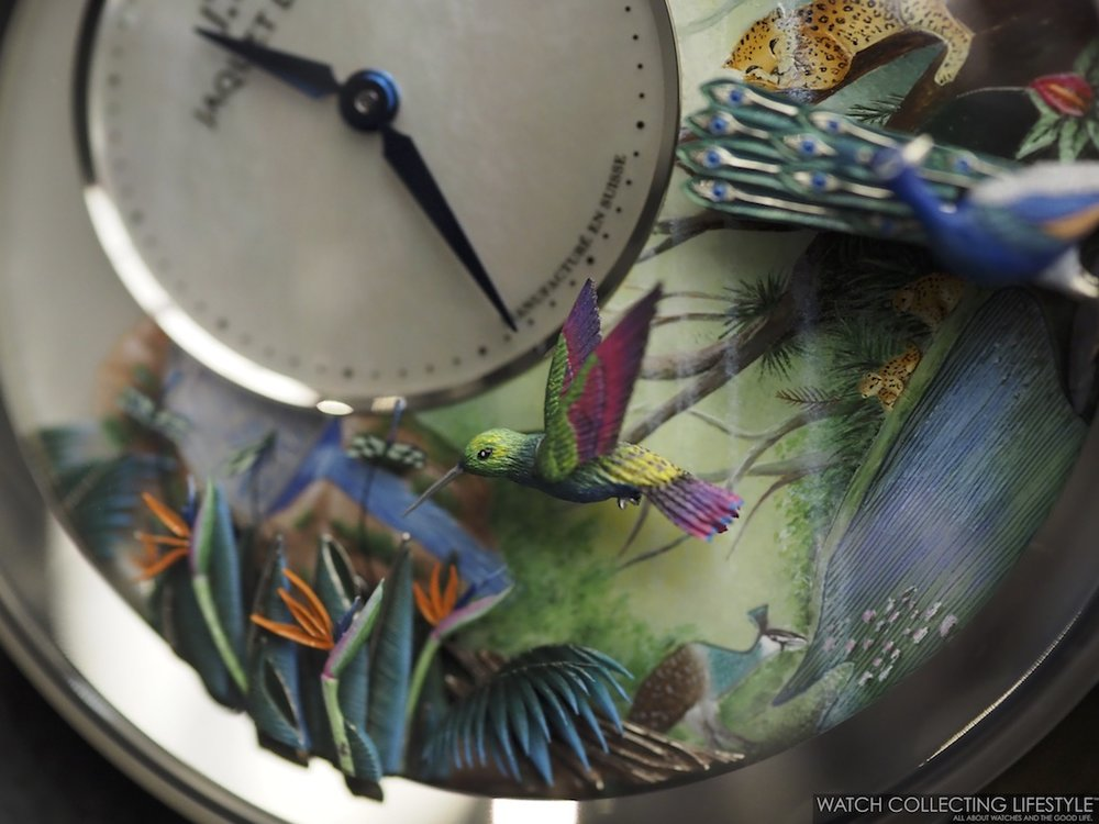Jaquet Droz Tropical Bird Repeater