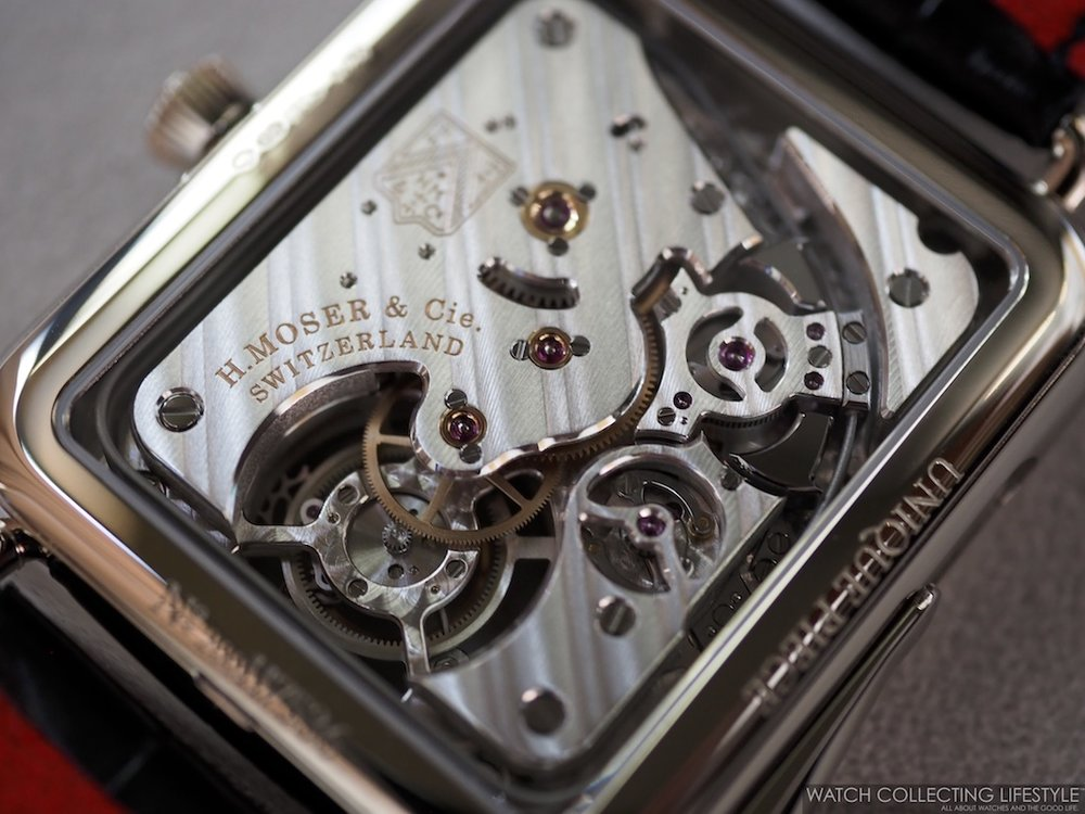 H. Moser & Cie. Swiss Alp Watch Minute Repeater Tourbillon WCL7