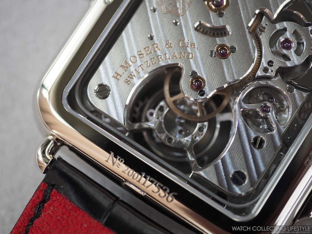 H. Moser & Cie. Swiss Alp Watch Minute Repeater Tourbillon Movement