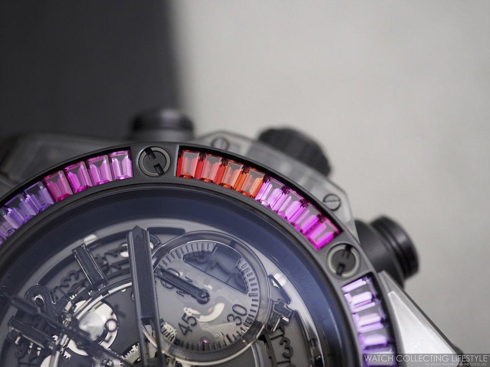 Hublot Big Bang Unico Sapphire Rainbow WCL4