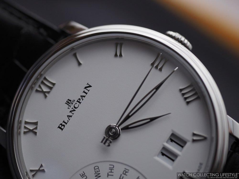 Blancpain Villeret Grande Date Jour Rétrograde WCL