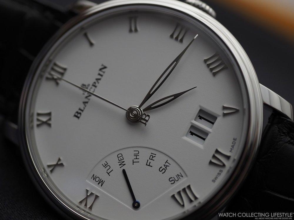 Blancpain Villeret Grande Date Jour Rétrograde Macro
