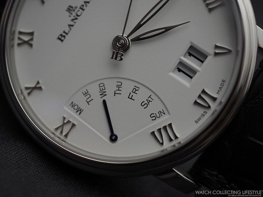 Blancpain Villeret Grande Date Jour Rétrograde Macro WCL2
