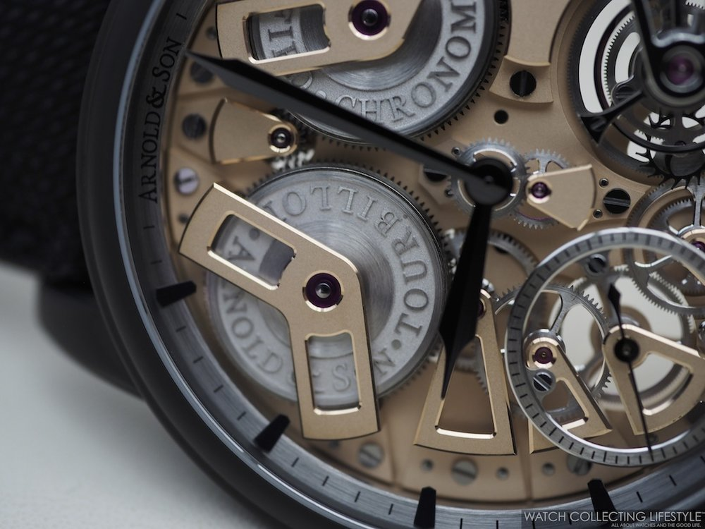 Arnold & Son Tourbillon Chronometer No. 36 Gunmetal Limited Edition
