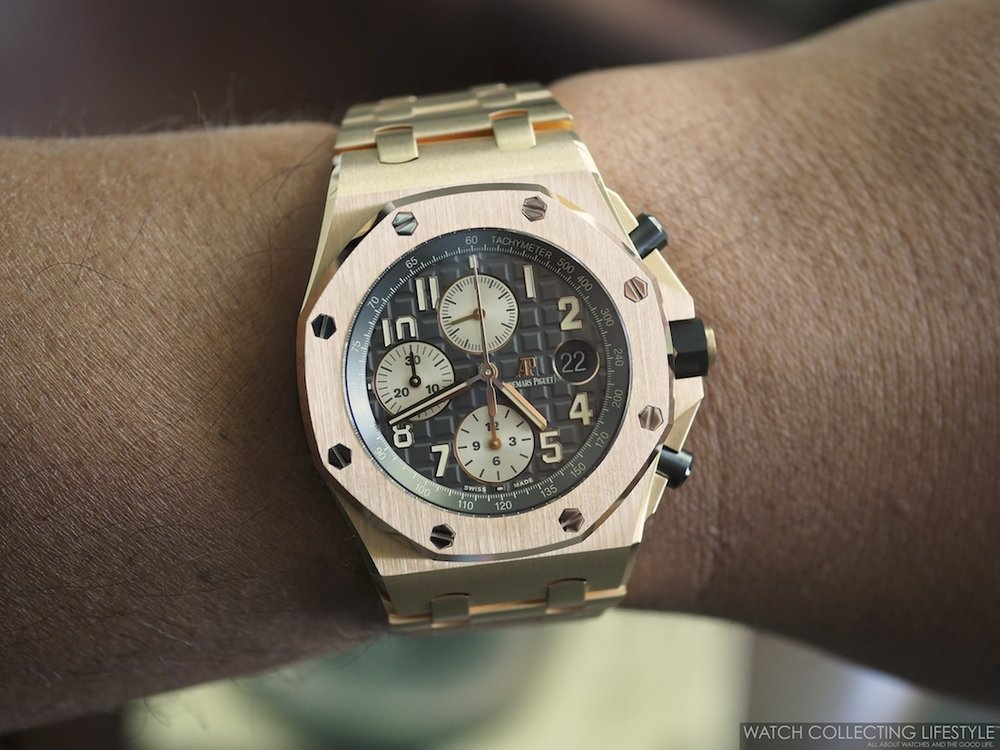 Audemars Piguet Royal Oak Offshore Chronograph 'The Brick'