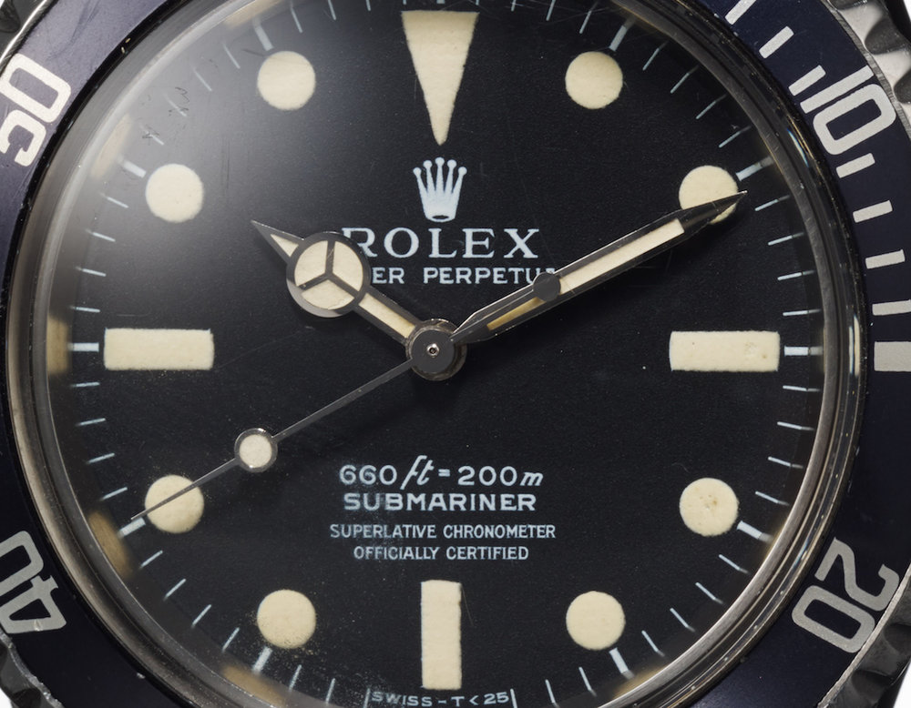 Steve McQueen's Rolex Submariner ref. 5513