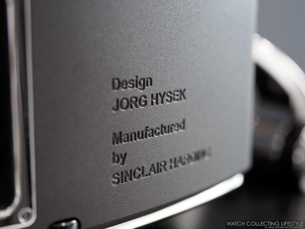 Hysek Design La Colonne du Temps WCL5