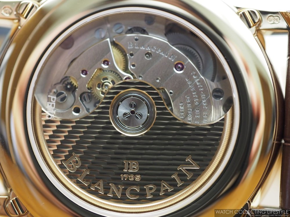 Blancpain Villeret Complete Calendar GMT WCL6