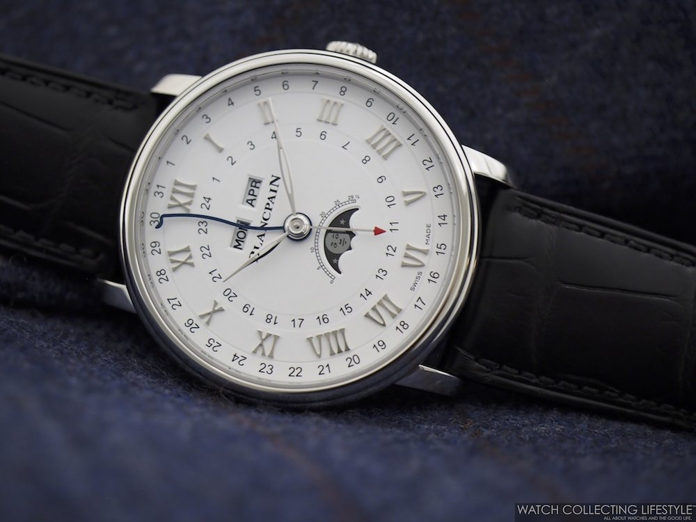 Blancpain Villeret Complete Calendar GMT WCL9
