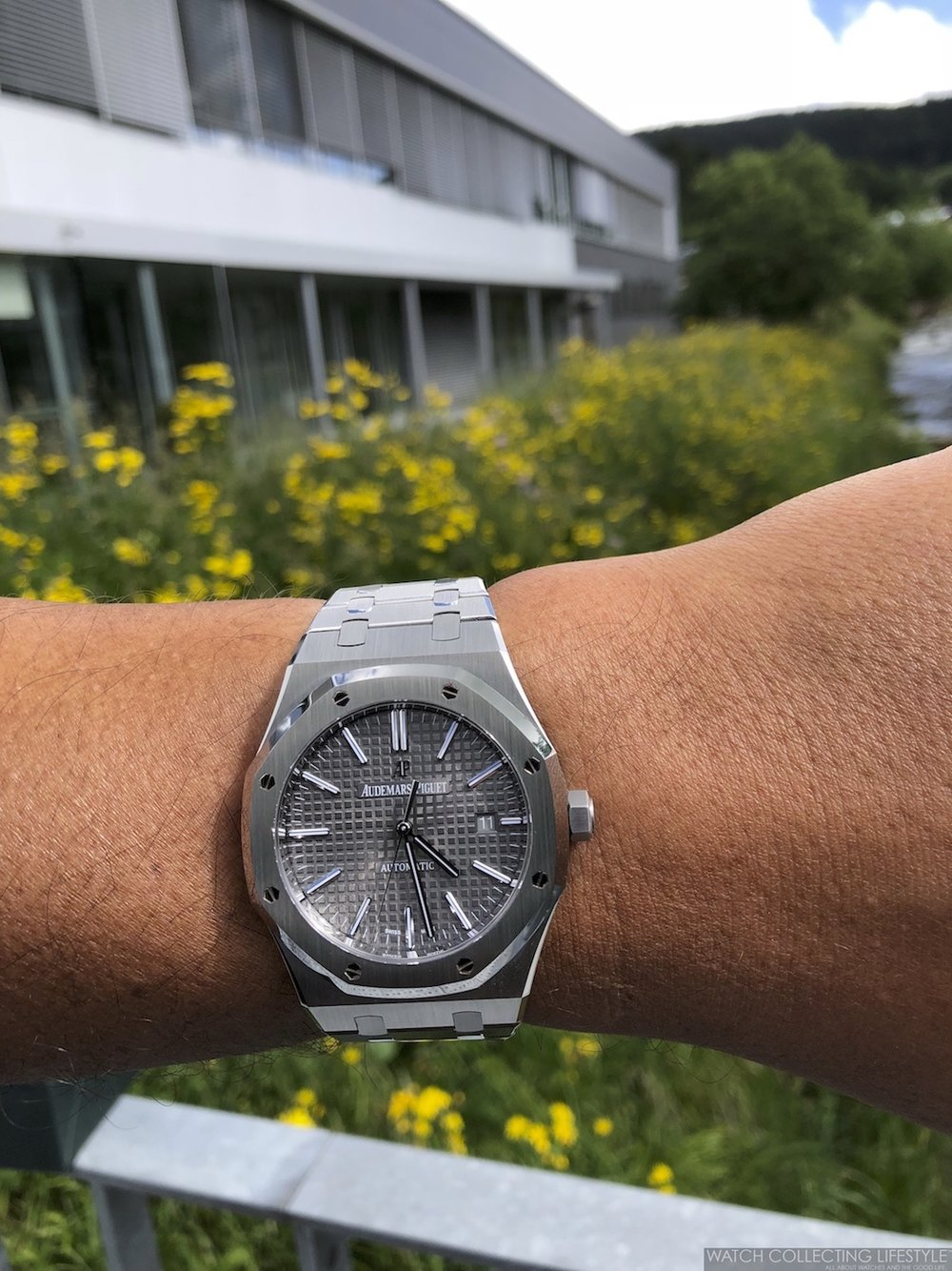 Audemars Piguet Manufacture in Le Brassus and Royal Oak 15400