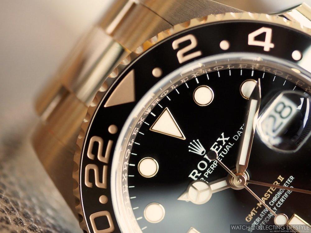 Rolex GMT Master II Everose Gold ref. 126715CHNR